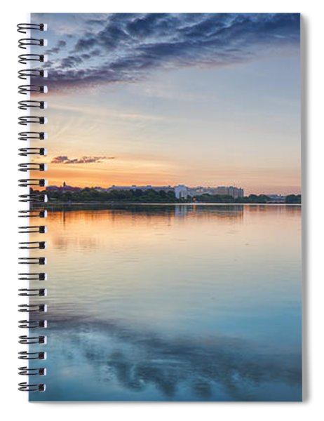 Washington Dc Panorama Spiral Notebook
