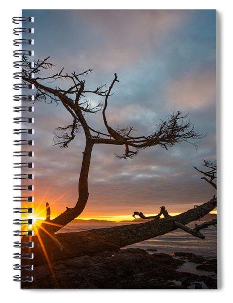 Washington Park Sunset Spiral Notebook
