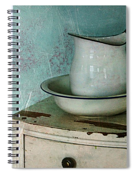 Washstand Still Life Spiral Notebook