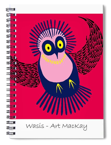 Wasis Spiral Notebook