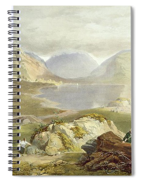 Wast Water, From The English Lake Spiral Notebook