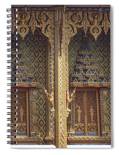 Wat Thung Setthi Ubosot Window Dthb1550 Spiral Notebook