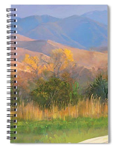 Watching The Field  Spiral Notebook