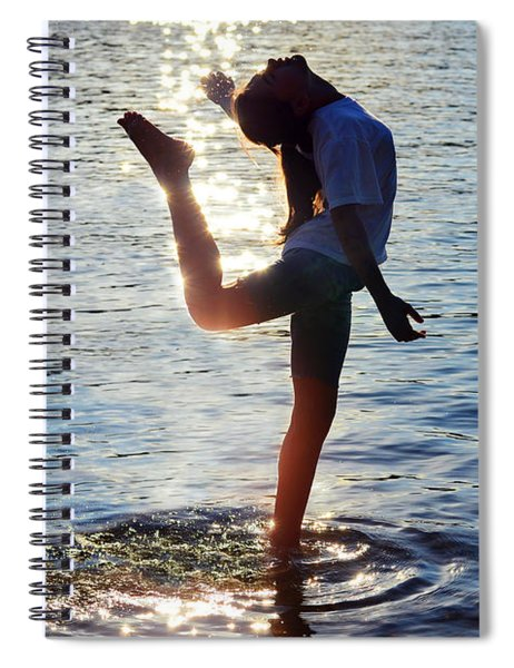 Water Dancer Spiral Notebook
