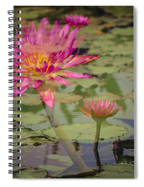 Water Garden Dream Spiral Notebook