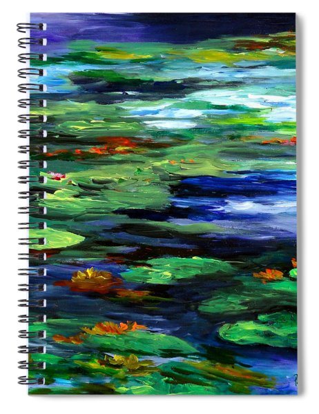 Water Lily Somnolence Spiral Notebook