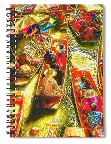 Water Market Spiral Notebook