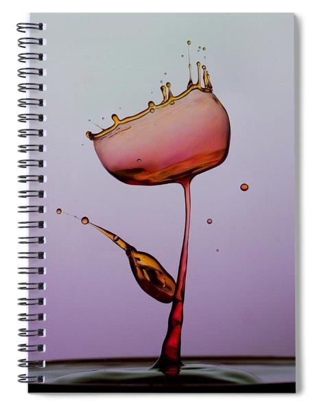 Water Tulip Spiral Notebook