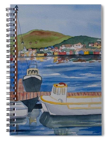 Watercolor - Dingle Ireland Spiral Notebook