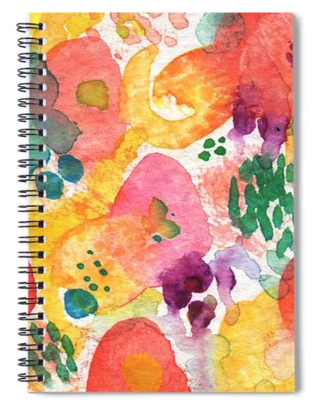 Watercolor Garden Spiral Notebook