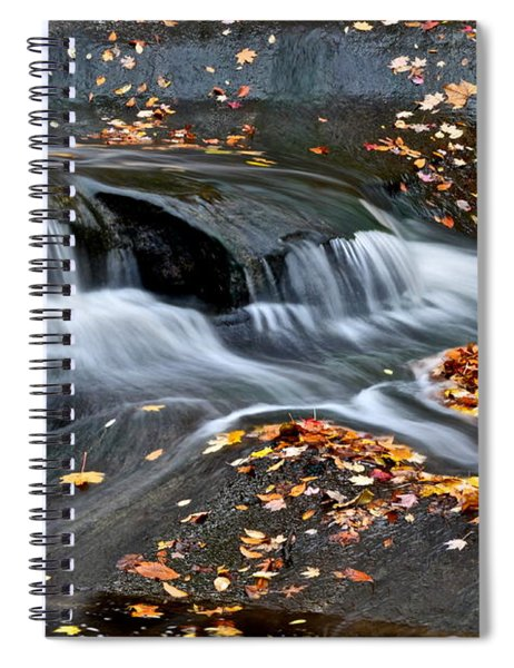 Waterfall Simplicity Spiral Notebook