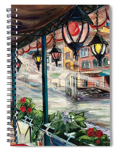 Waterfront Cafe Spiral Notebook
