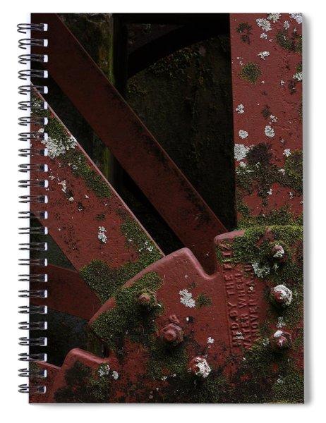Waterwheel Up Close Spiral Notebook