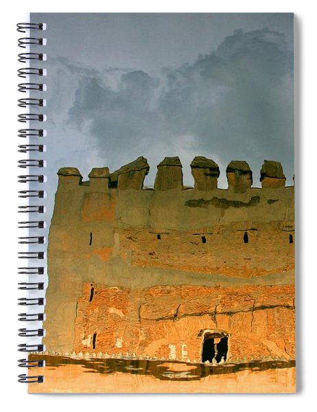 Watery Alhambra Spiral Notebook