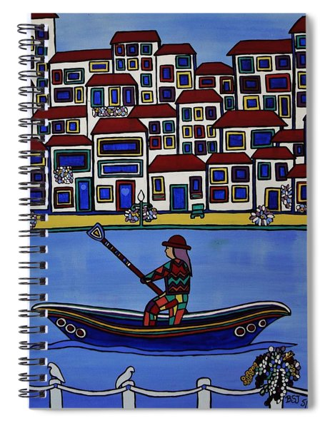 Watery Venice Spiral Notebook