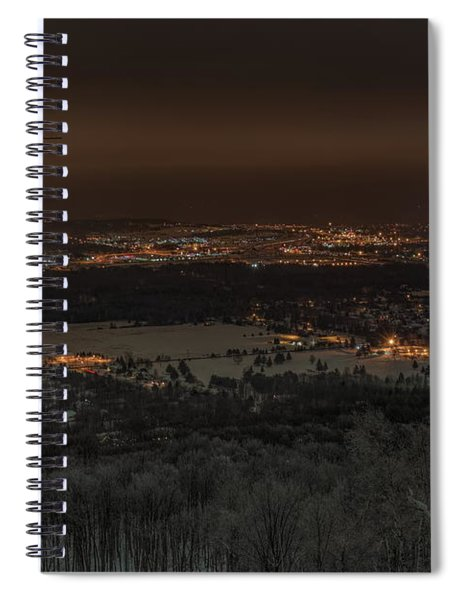 Wausau From On High Spiral Notebook
