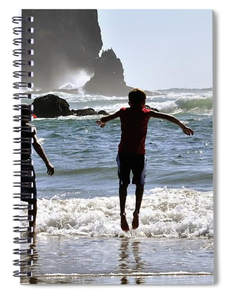 Wave Jumping 25614 Spiral Notebook