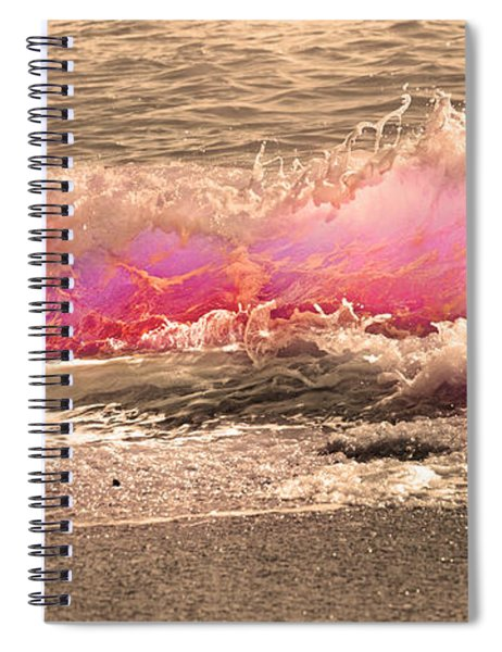 Wave The Storm Goodbye  Spiral Notebook