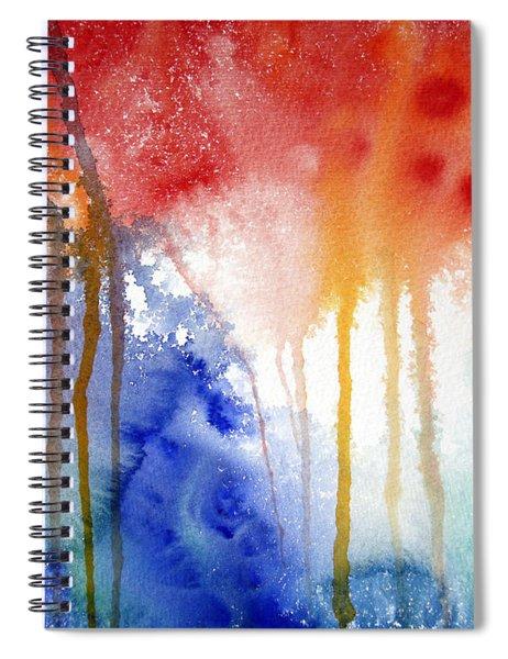 Waves Of Emotion Spiral Notebook