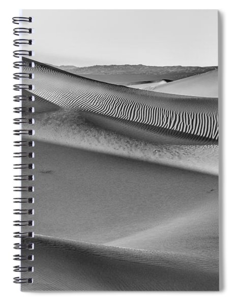 Waves Of Sand IIi Spiral Notebook