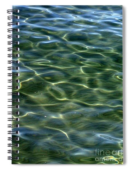 Waves On Lake Tahoe Spiral Notebook