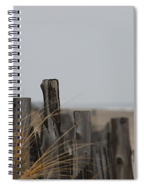 Weathered Fences Spiral Notebook