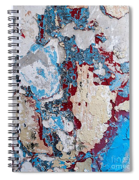 Weathered Wall 02 Spiral Notebook