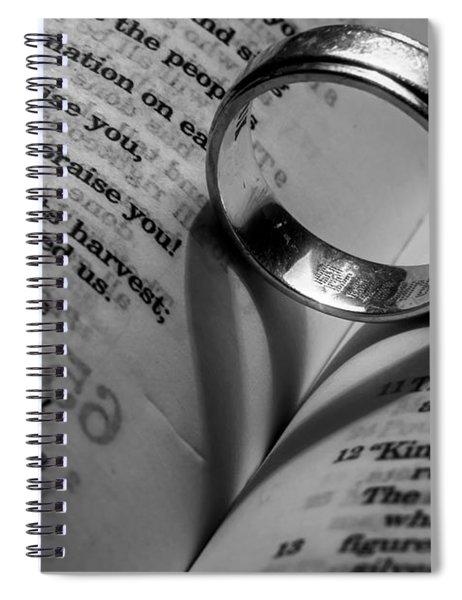 Wedlock Spiral Notebook