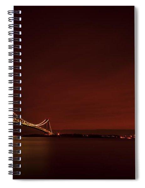 Wednesday Night Lights Spiral Notebook