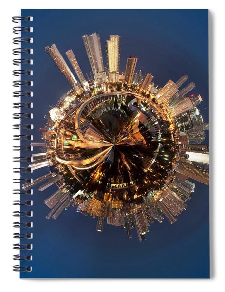 Wee Miami Planet Spiral Notebook