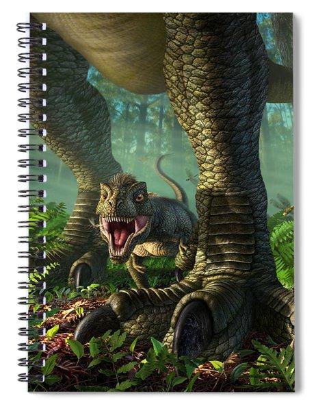 Wee Rex Spiral Notebook