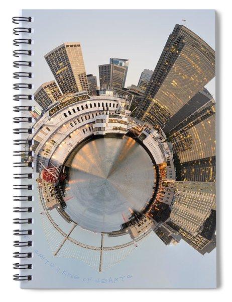 Wee San Francisco Planet Spiral Notebook