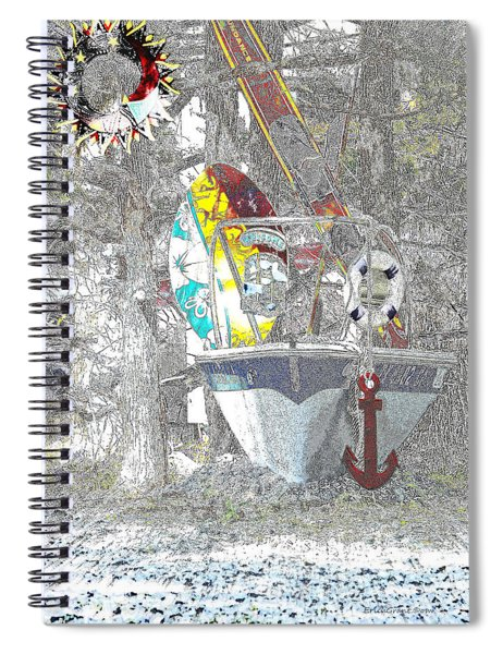 Welcome Bow Spiral Notebook