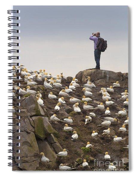 Welcome Explorers Spiral Notebook