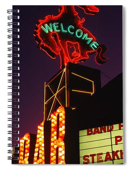 Welcome Sign Of A Bar, Million Dollar Spiral Notebook