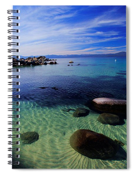 Welcome To Bliss Beach Spiral Notebook