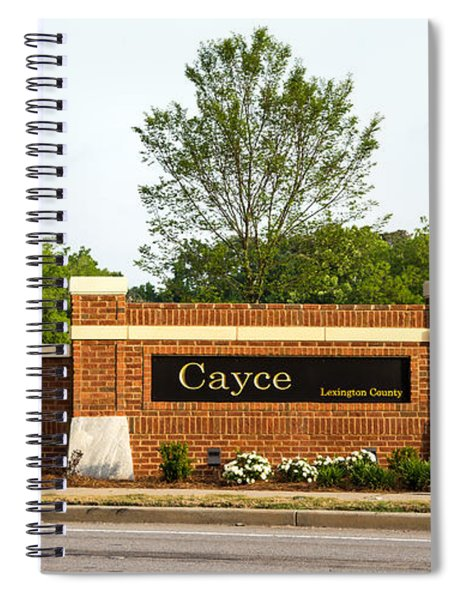 Welcome To Cayce Spiral Notebook