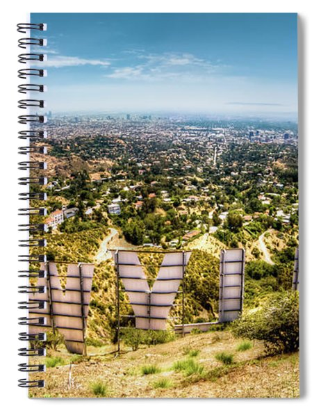 Welcome To Hollywood Spiral Notebook