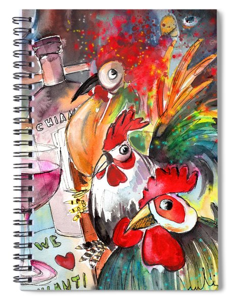 Welcome To Italy 08 Spiral Notebook