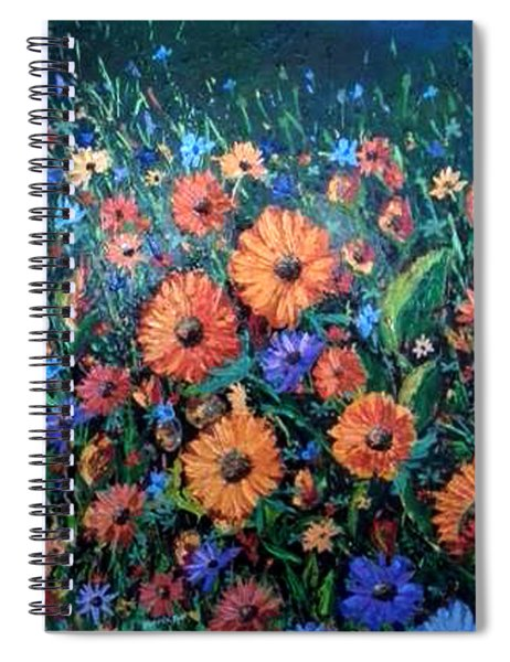 Welcoming The Dawn Spiral Notebook