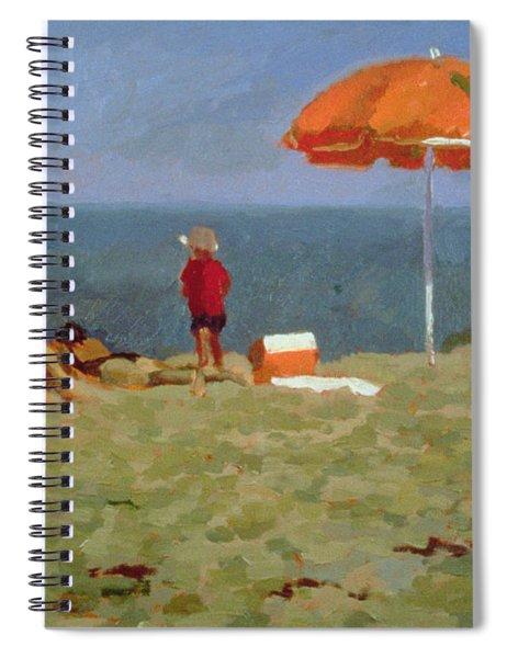 Wellfleet Beach  Spiral Notebook
