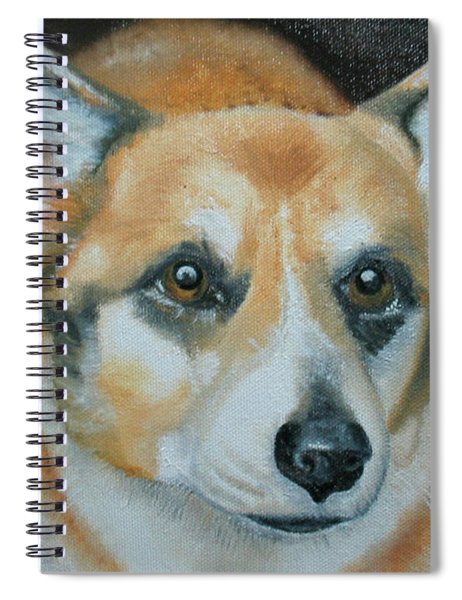 Welsh Corgi Spiral Notebook