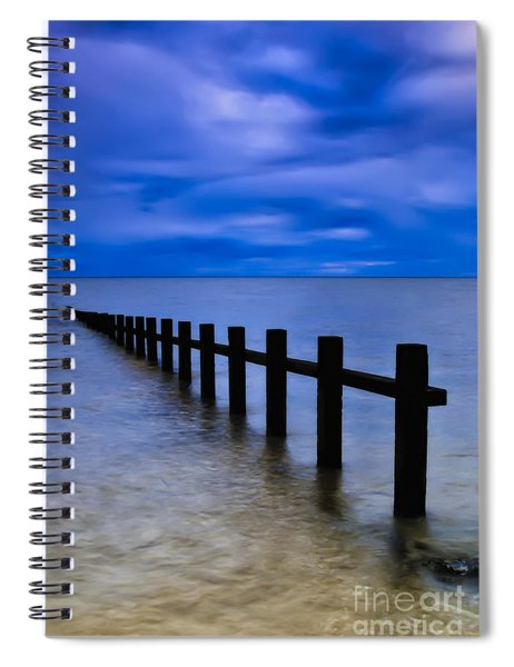 Welsh Seascape Spiral Notebook