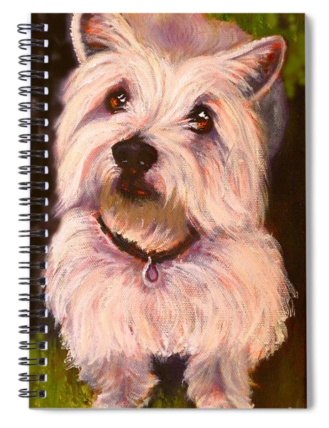 West Highland Terrier Reporting For Duty Spiral Notebook