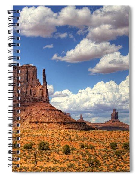 West Mitten  Spiral Notebook
