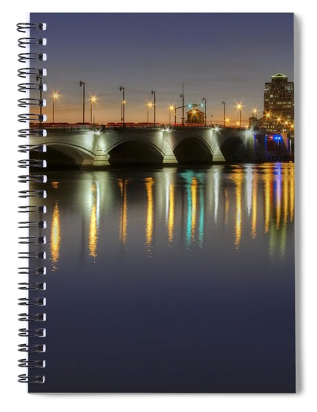 West Palm Beach At Night Spiral Notebook