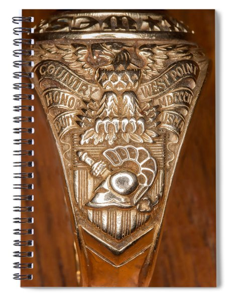 West Point Class Ring Spiral Notebook