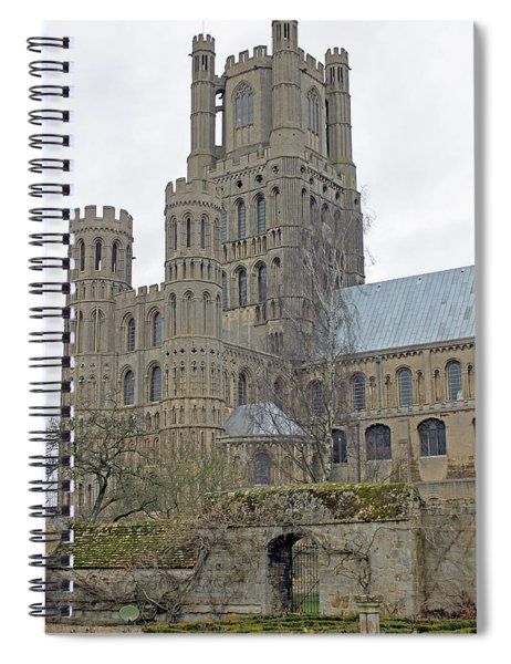 West Tower Of Ely Cathedral  Spiral Notebook