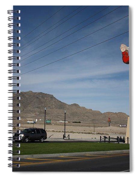 West Wendover Nevada Spiral Notebook
