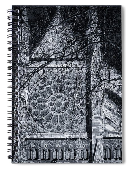 Westminster Abbey North Transept Spiral Notebook